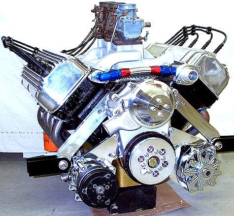Early Chrysler Hemi, Dodge, SB Chevy, Water Pump Adapter ...